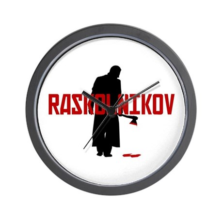 Raskolnikov's Time Wall Clock