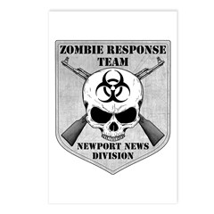 Zombie Response Team: Newport News Division Postca
