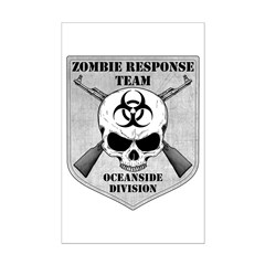 Zombie Response Team: Oceanside Division Posters