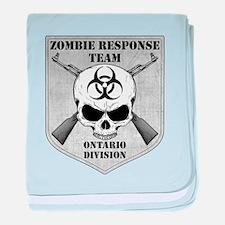 Zombie Response Team: Ontario Division baby blanke