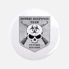"Zombie Response Team: Ontario Division 3.5"" Button"