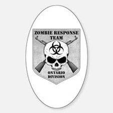 Zombie Response Team: Ontario Division Decal