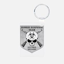 Zombie Response Team: Ontario Division Keychains