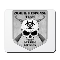 Zombie Response Team: Ontario Division Mousepad