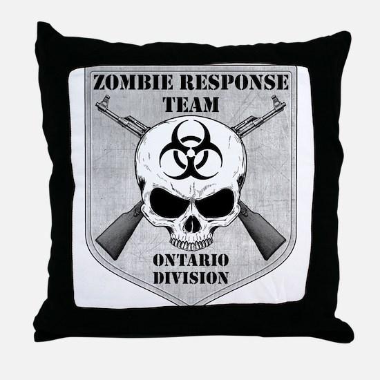 Zombie Response Team: Ontario Division Throw Pillo