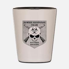 Zombie Response Team: Ontario Division Shot Glass