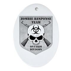 Zombie Response Team: Ontario Division Ornament (O