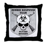 Zombie Response Team: Oxnard Division Throw Pillow