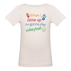 Future Volleyball Player Organic Baby T-Shirt