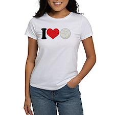I Heart Volleyball Gift Tee