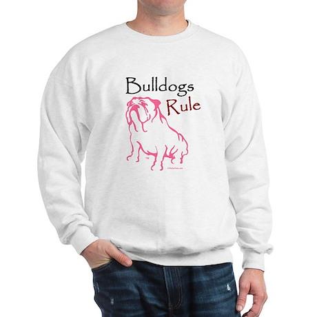Bulldogs Rule Pink/Sweatshirt