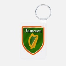 Jameson Family Crest Aluminum Photo Keychain