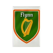 Flynn Family Crest Rectangle Magnet