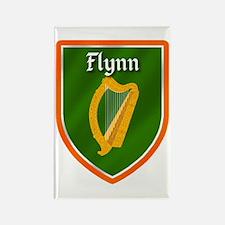 Flynn Family Crest Rectangle Magnet