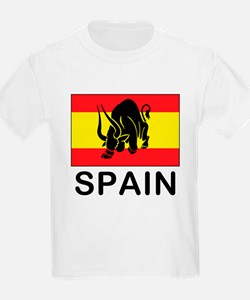 Spain Running Of The Bulls T-Shirt