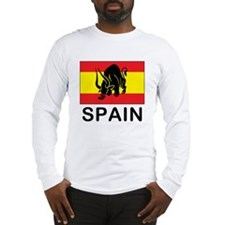 Spain Running Of The Bulls Long Sleeve T-Shirt