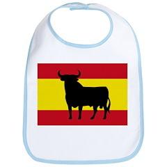Spain Bull Flag Bib