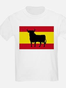 Spain Bull Flag T-Shirt