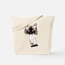 Ragdoll Caricature Tote Bag