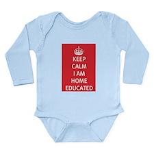 Keep Calm Home Educated Long Sleeve Infant Bodysui