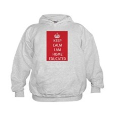 Keep Calm Home Educated Hoodie