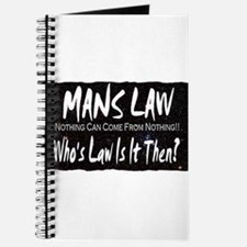 mans law nothing can come fro Journal