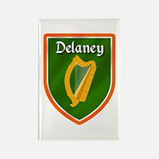 Delaney Family Crest Rectangle Magnet