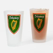Delaney Family Crest Drinking Glass
