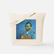 Vincent's Cat Tote Bag