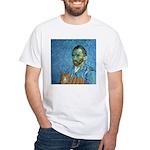 Vincent's Cat White T-Shirt