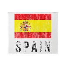 Vintage Spain Throw Blanket