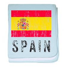Vintage Spain baby blanket