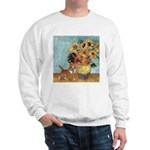 Sunflowers & Kitten Sweatshirt