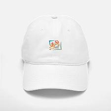 Abstract Crab Baseball Baseball Cap