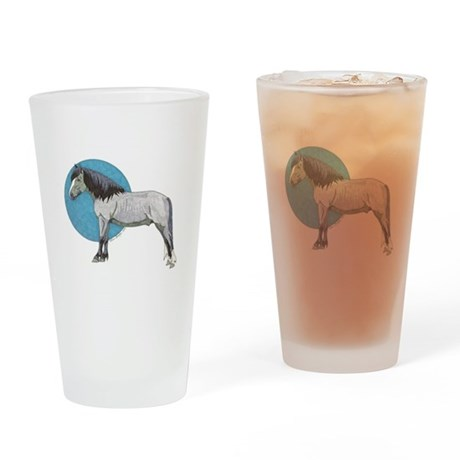 Indigo Blue Drinking Glass