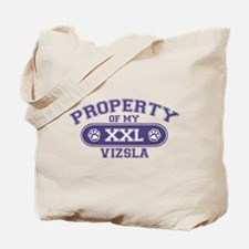 Vizsla PROPERTY Tote Bag