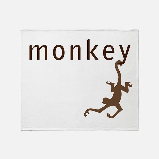 Classic Monkey Throw Blanket