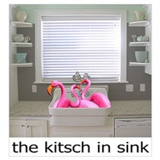 The Kitsch in Sink Wall Art Framed Print