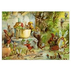 Gnomes, Elves & Forest Fairies Wall Art Poster