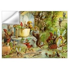 Gnomes, Elves & Forest Fairies Wall Art Wall Decal