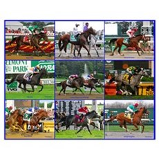 Horse Racing Poster Poster
