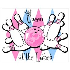 Queen of the Lanes Wall Art Canvas Art