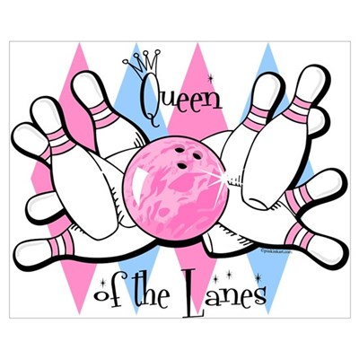 Queen of the Lanes Wall Art Framed Print