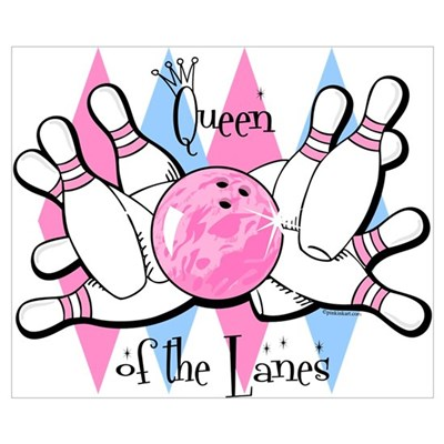 Queen of the Lanes Wall Art Poster