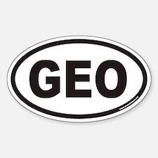 Georgia GEO Country Code Decal