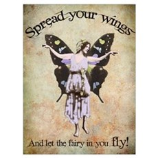Spread your wings Wall Art Poster