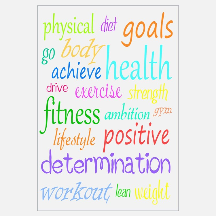 Fitness Collage Wall Art