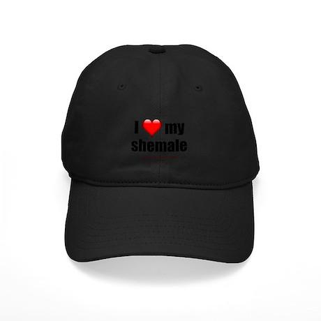 """I Love My Shemale"" Black Cap"