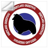 Shetland sheepdogs Wall Decals