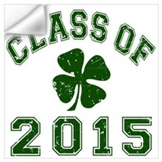 Class Of 2015 Shamrock Wall Art Wall Decal
